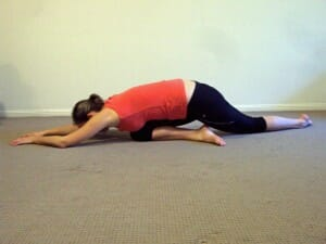 glut and Lat stretch - Hip flexibility