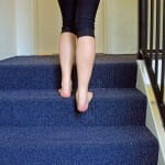 calf stretch , soleus, gastroc - self treatment for shin splints