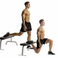 Bulgrarian split squat for hip stability and strength - trohcnateric bursitis and lateral hip pain
