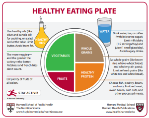 healthy eating plater - guide to eat better healthy