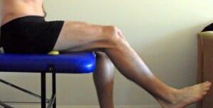 Hamstirng, thigh self myo-fascial release