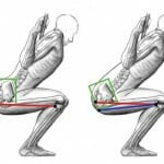 back pain while squating