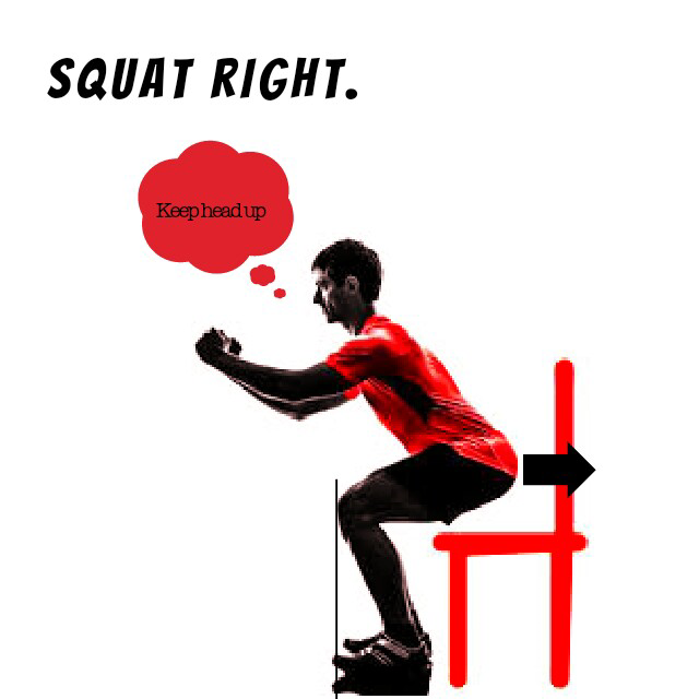 correct squat form, strong and safe