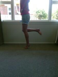 ankle sprain balance exercise