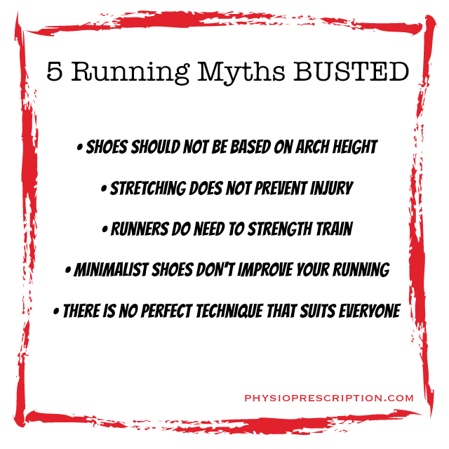 running myths busted