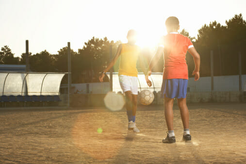 soccer sever's disease how to improve