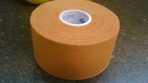Strapping tape - rigid