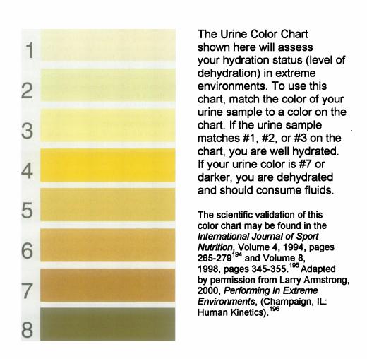 Urine Analysis Dehydration