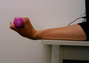 Elbow pain exercise