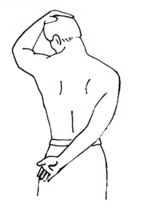 neck stretch for levator scapulae