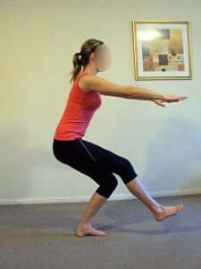 Single leg Squat, hip stability and strength